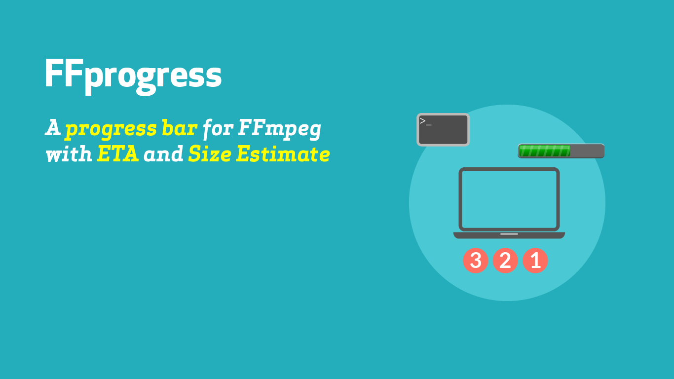 A progress bar with eta for FFmpeg using Python - Aavtech