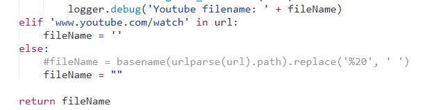 uGet integration code after change