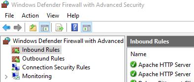 Inbound Firewall Rules
