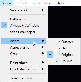 VLC Simple Zoom